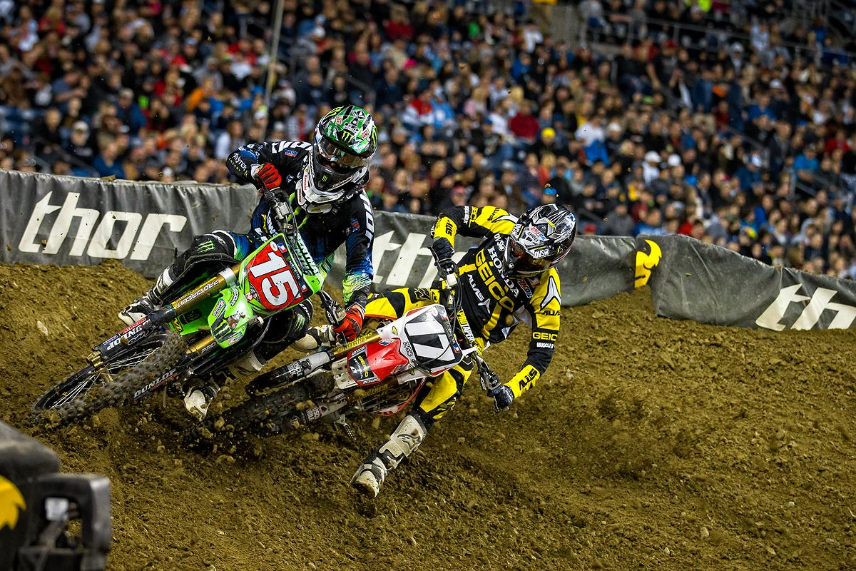 Dean Wilson and Eli Tomac