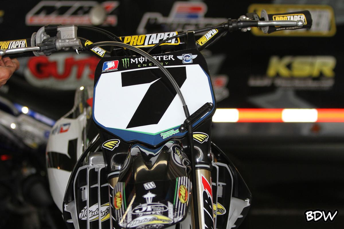 The #7 MotoConcepts bike