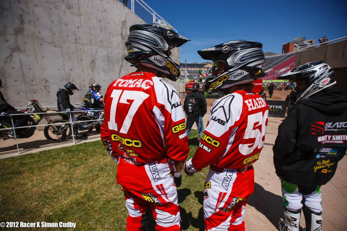 Tomac and Hahn