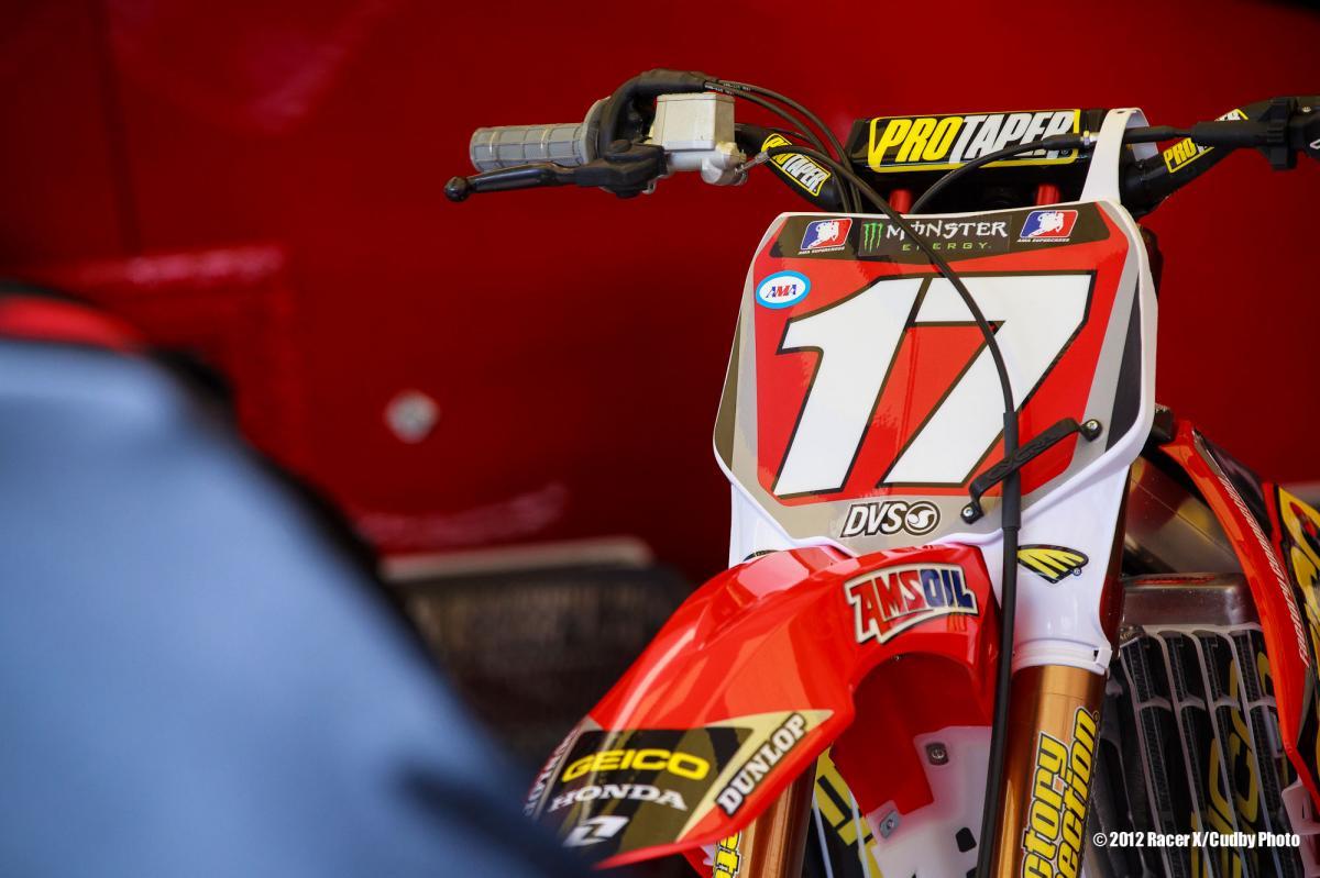 Eli Tomac's ride