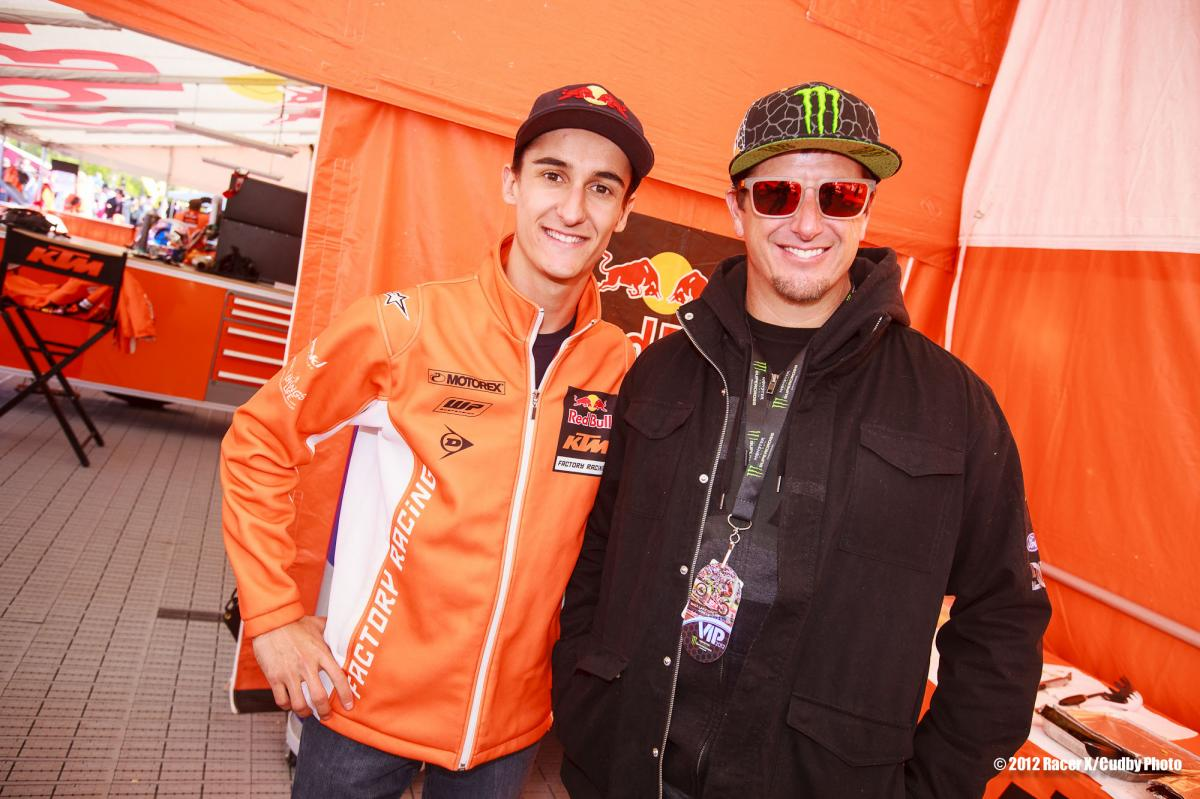 Marvin Musquin meets Ken Block