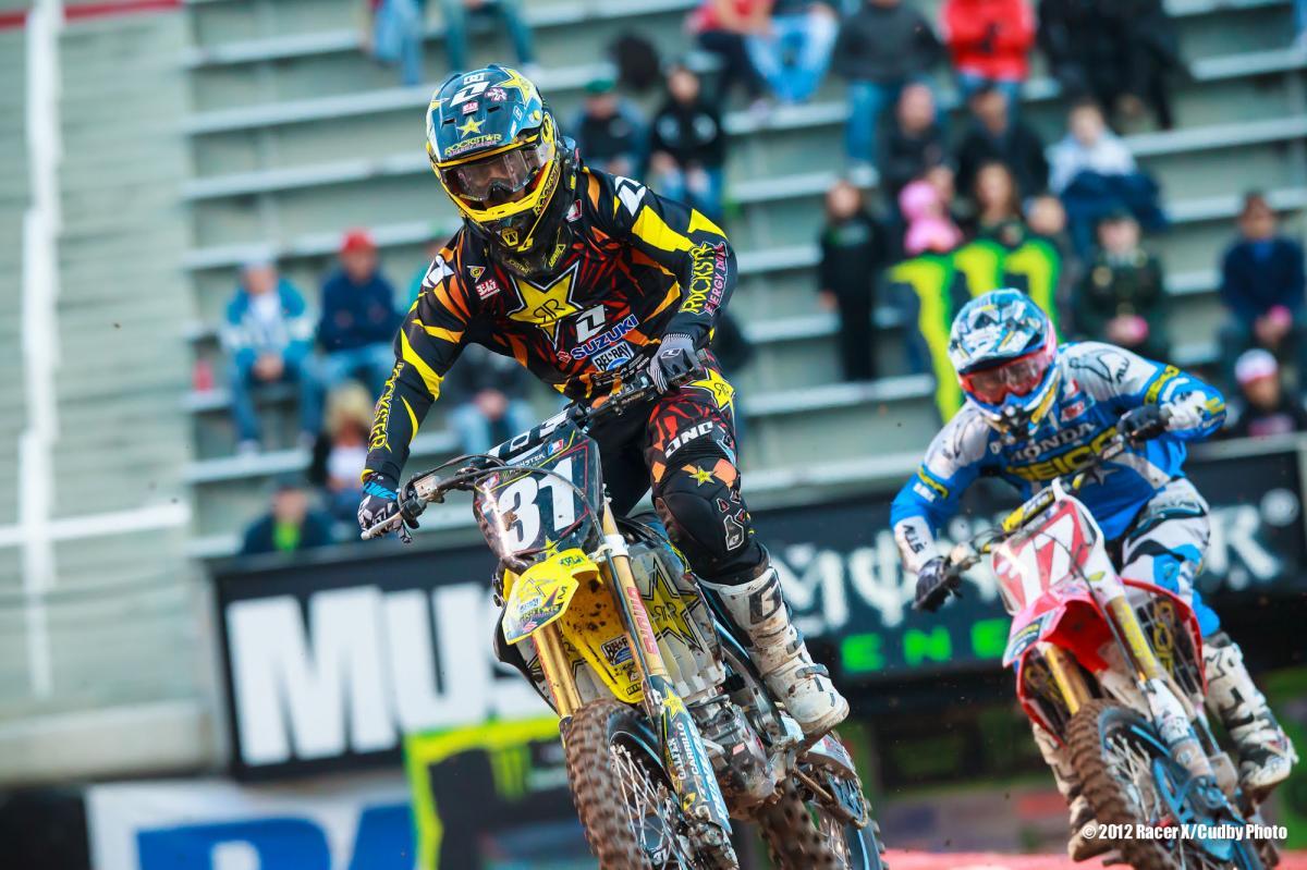 Martin Davalos and Eli Tomac