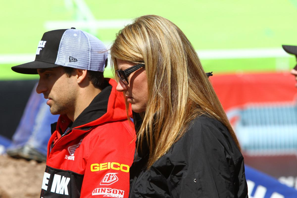 Justin Brayton and Erin Bates