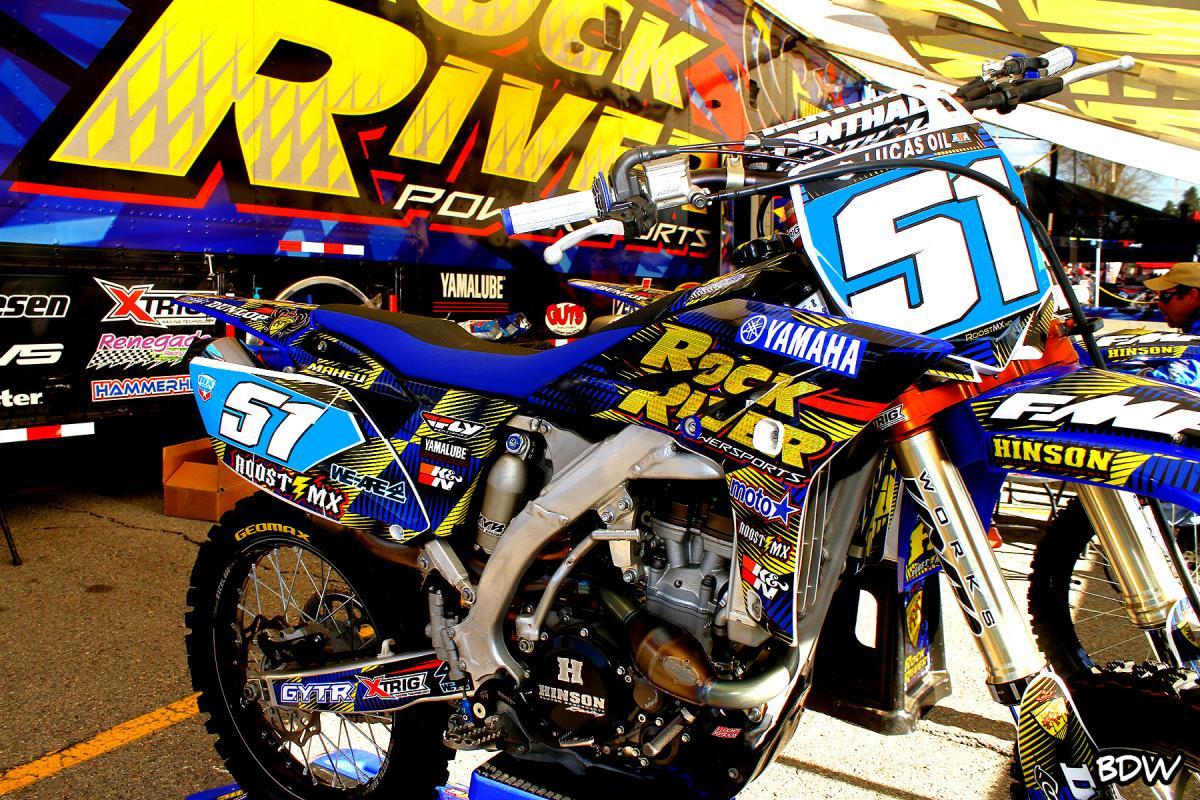 Rock River WMX rider Amanda Maheu