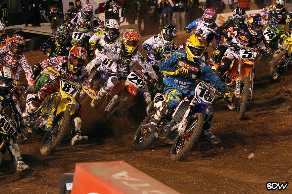 Millsaps with the holeshot