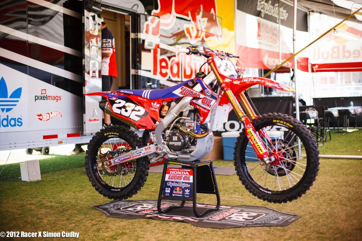 Billy Laninovich's TLD Honda