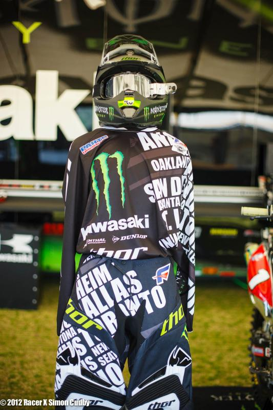 Villopoto's gear if he was racing...