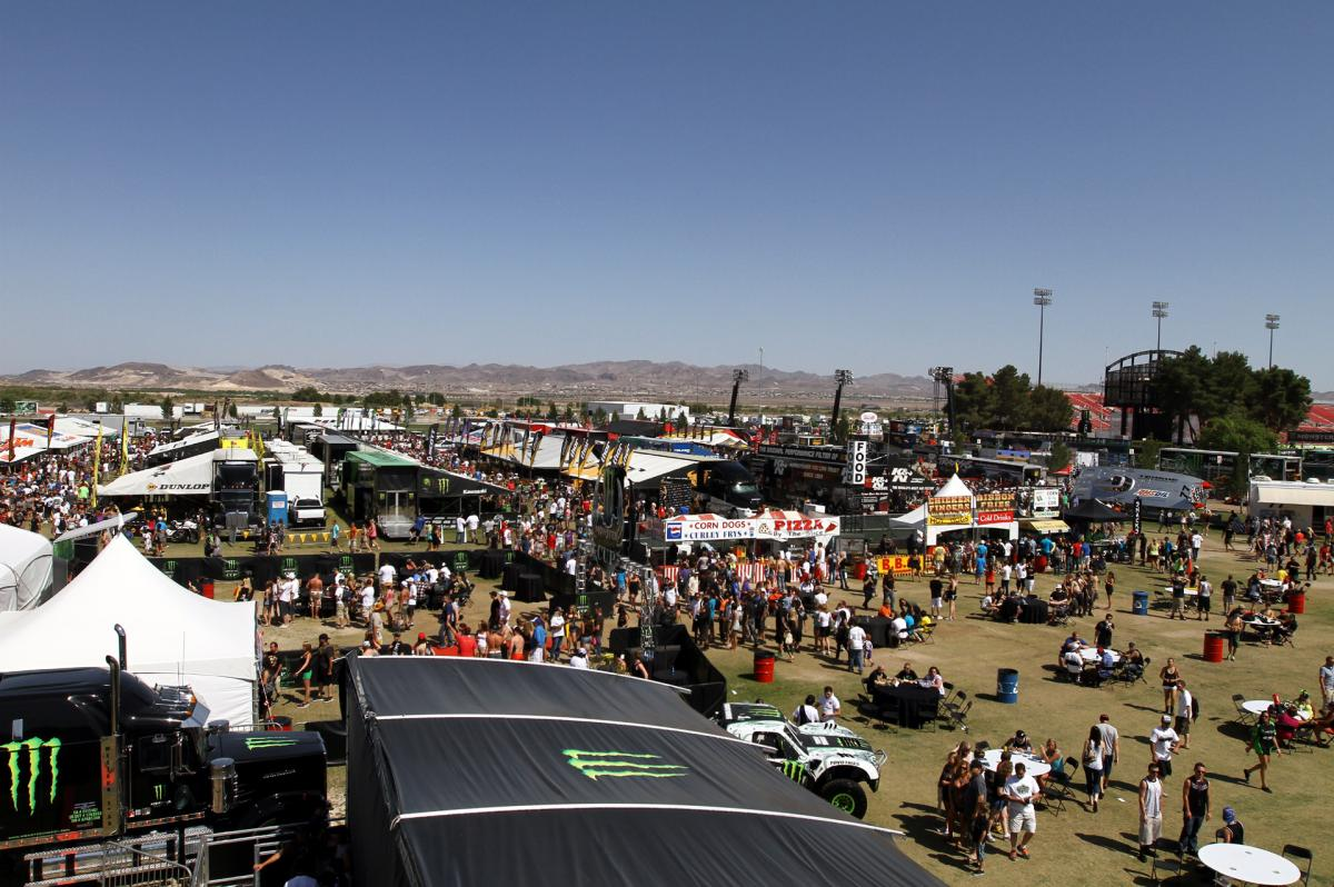 The Vegas pits