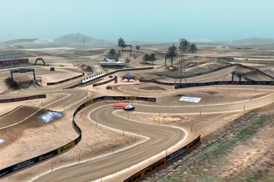 Animated Track Map: Hangtown