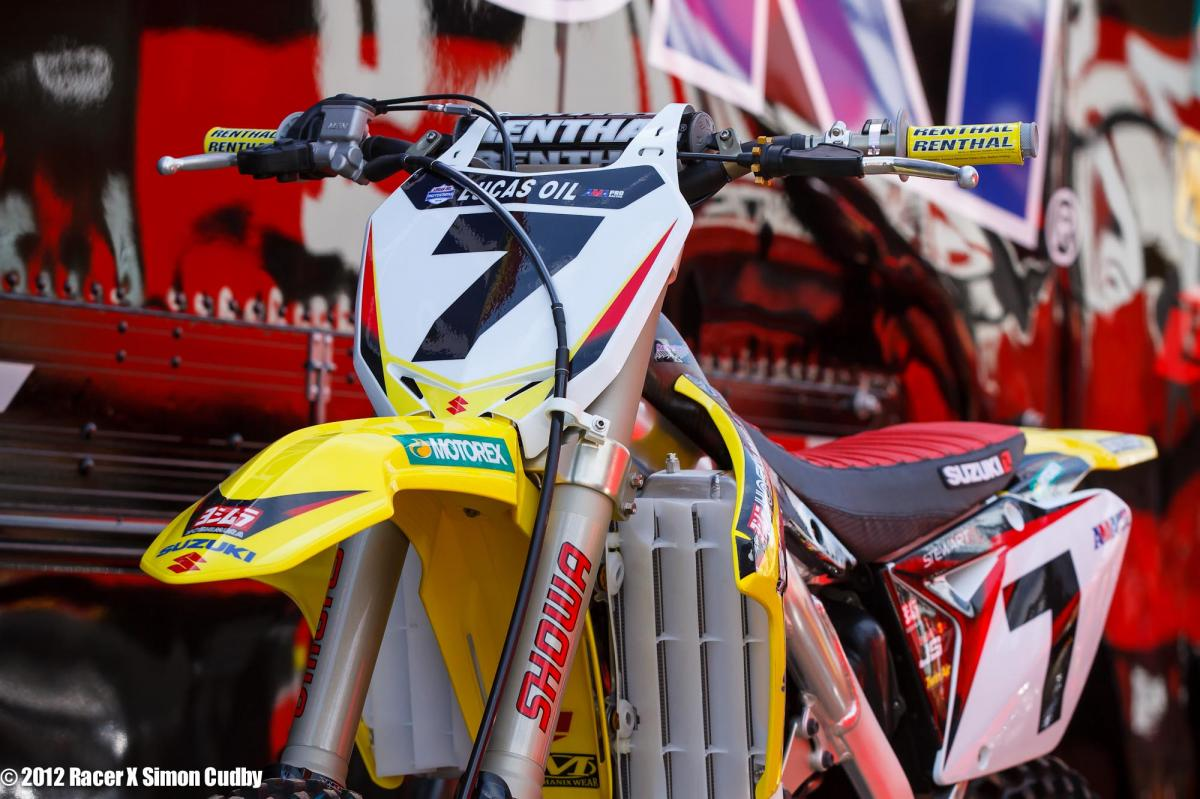 James Stewart's #7 Suzuki