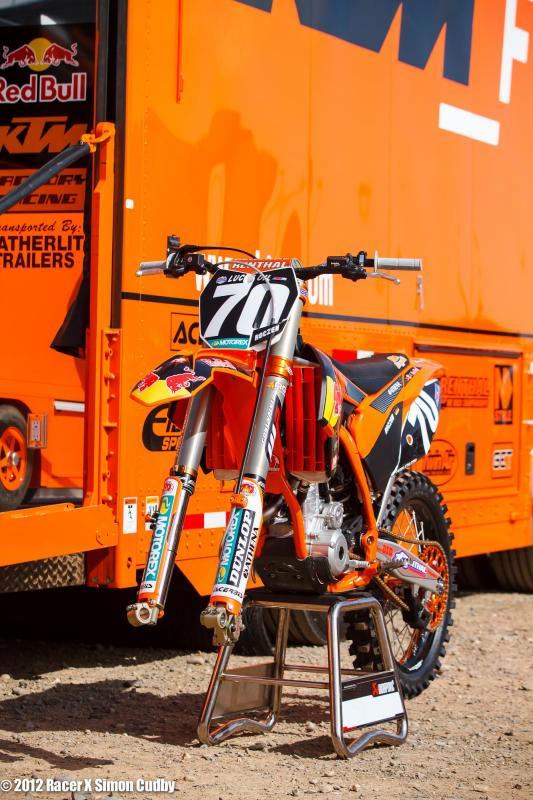Ken Roczen's KTM