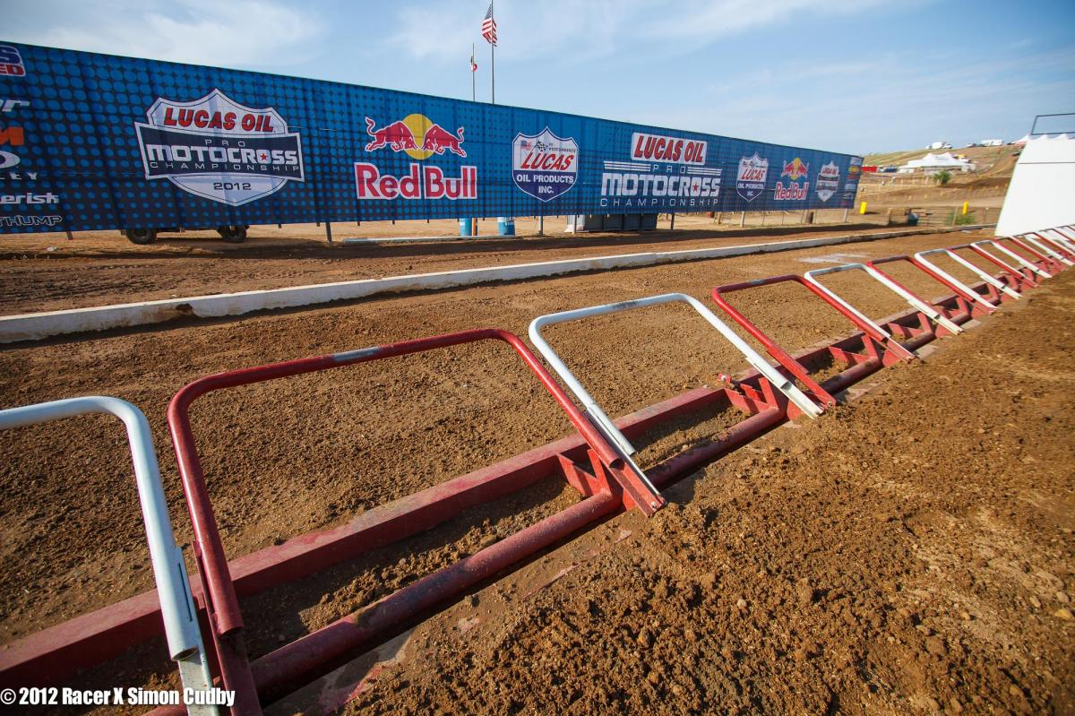The Hangtown start gate