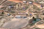 Animated Track Map:  Hangtown, Heli View