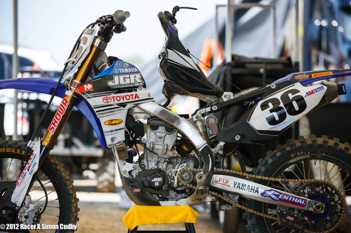 Kyle Regal's JGR Yamaha