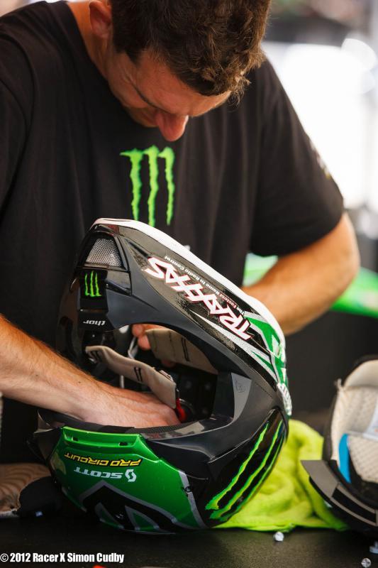 PC helmet prep