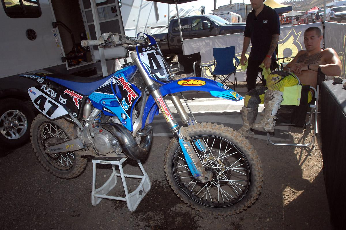 Chris Blose and his PulpMX YZ250