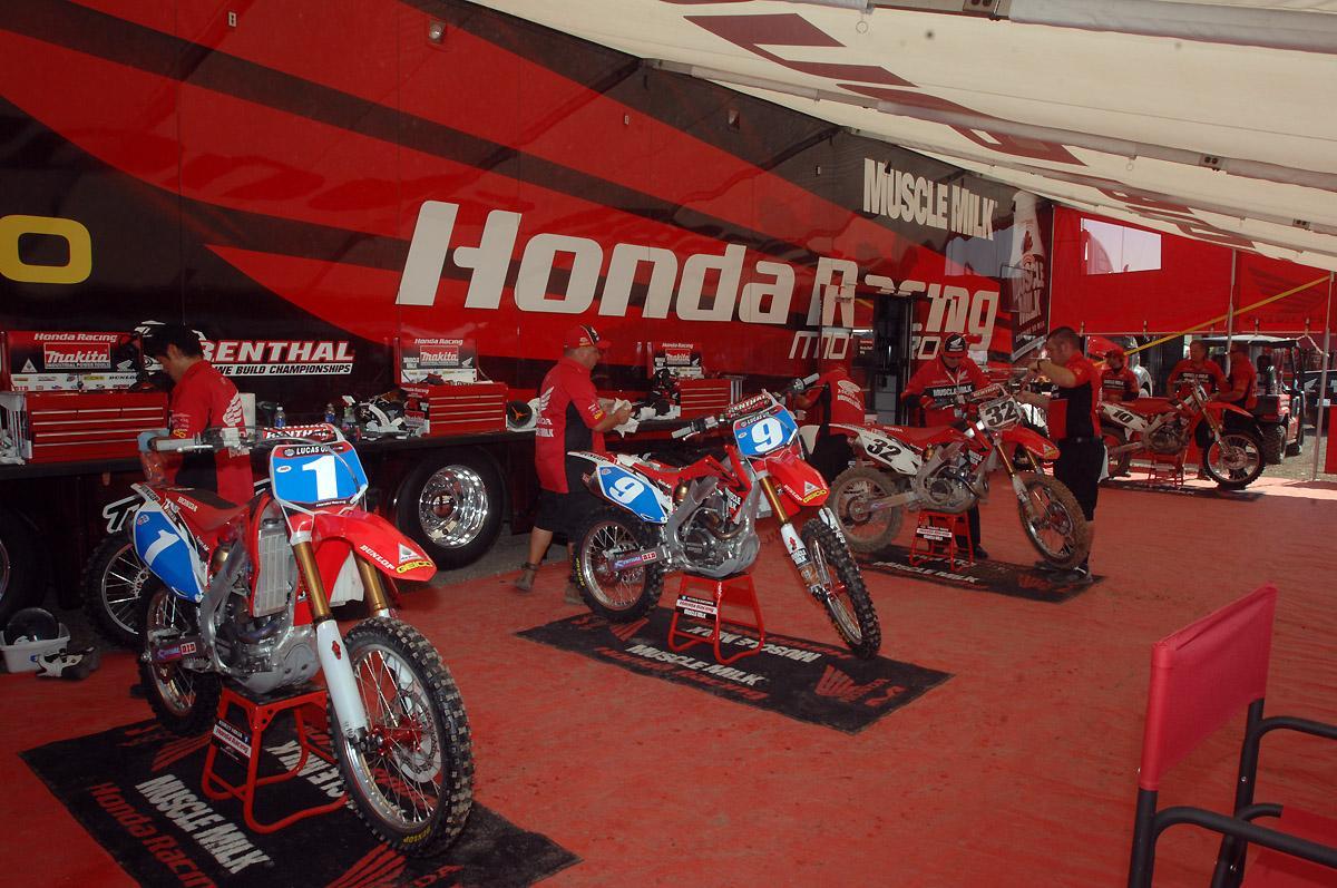 WMX Honda