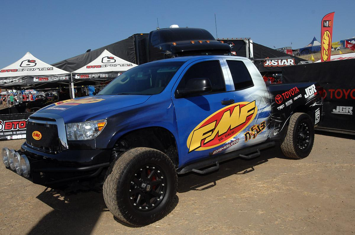 FMF Toyota truck