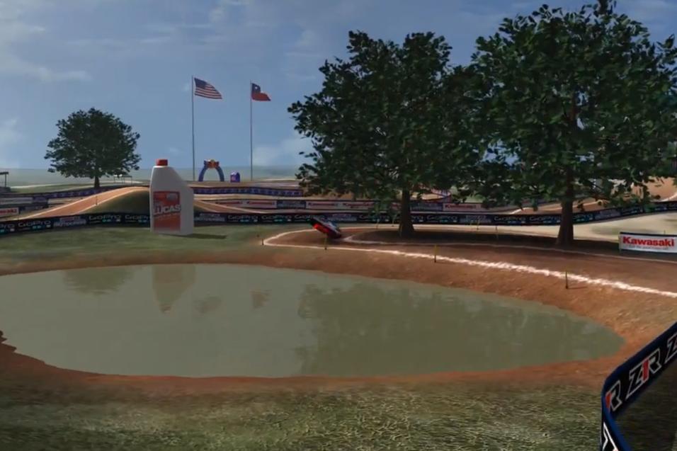 Animated Track Map: Freestone