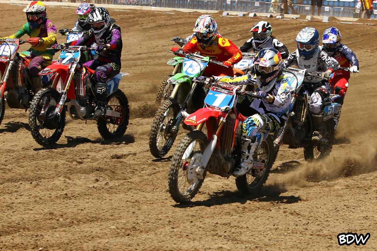 Ashley Fiolek ripping another holeshot