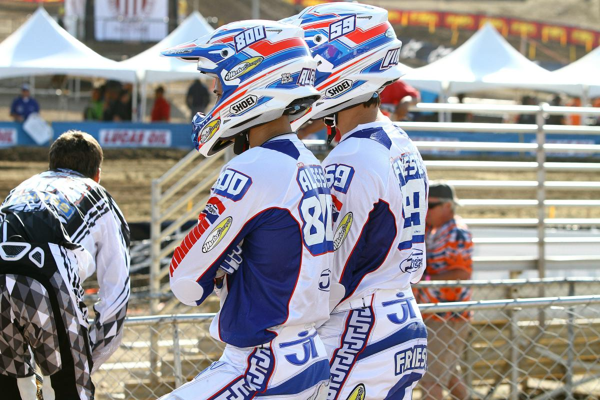 Mike Alessi and Vince Friese