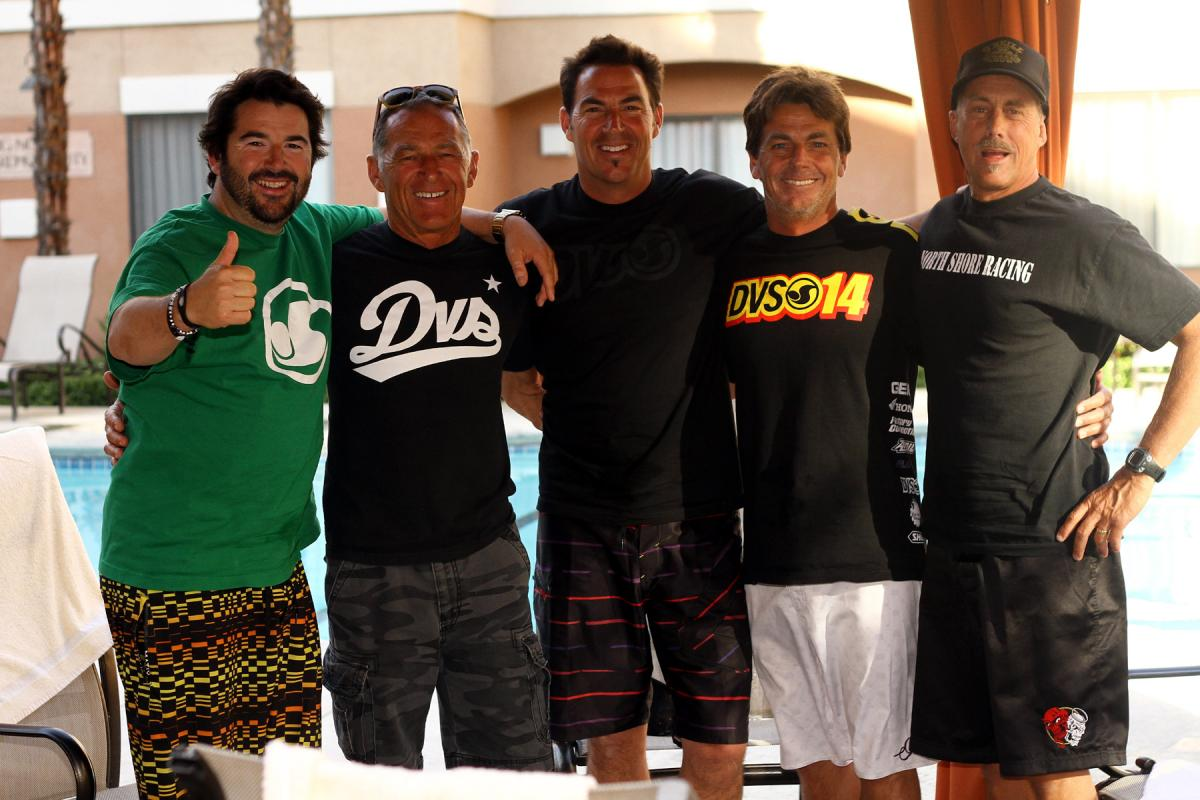 The DVS crew