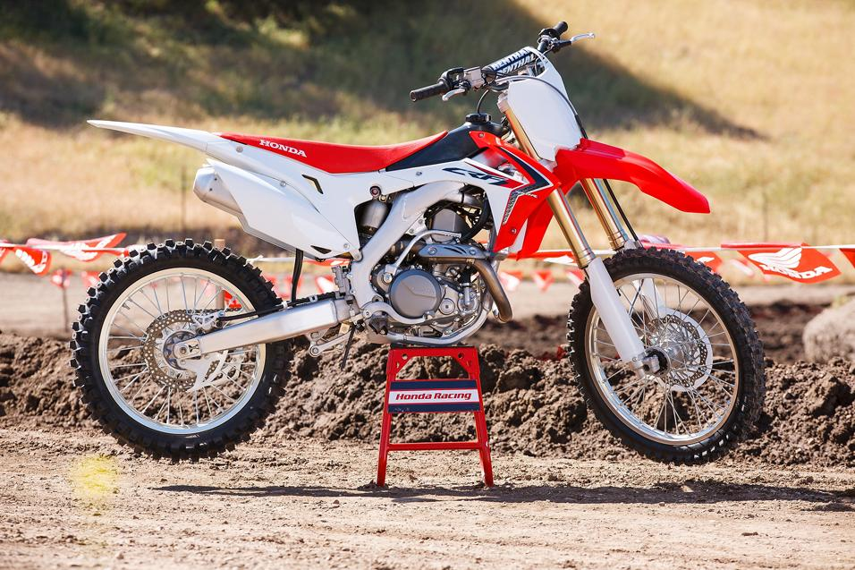 The All New 2013 Honda CRF450R