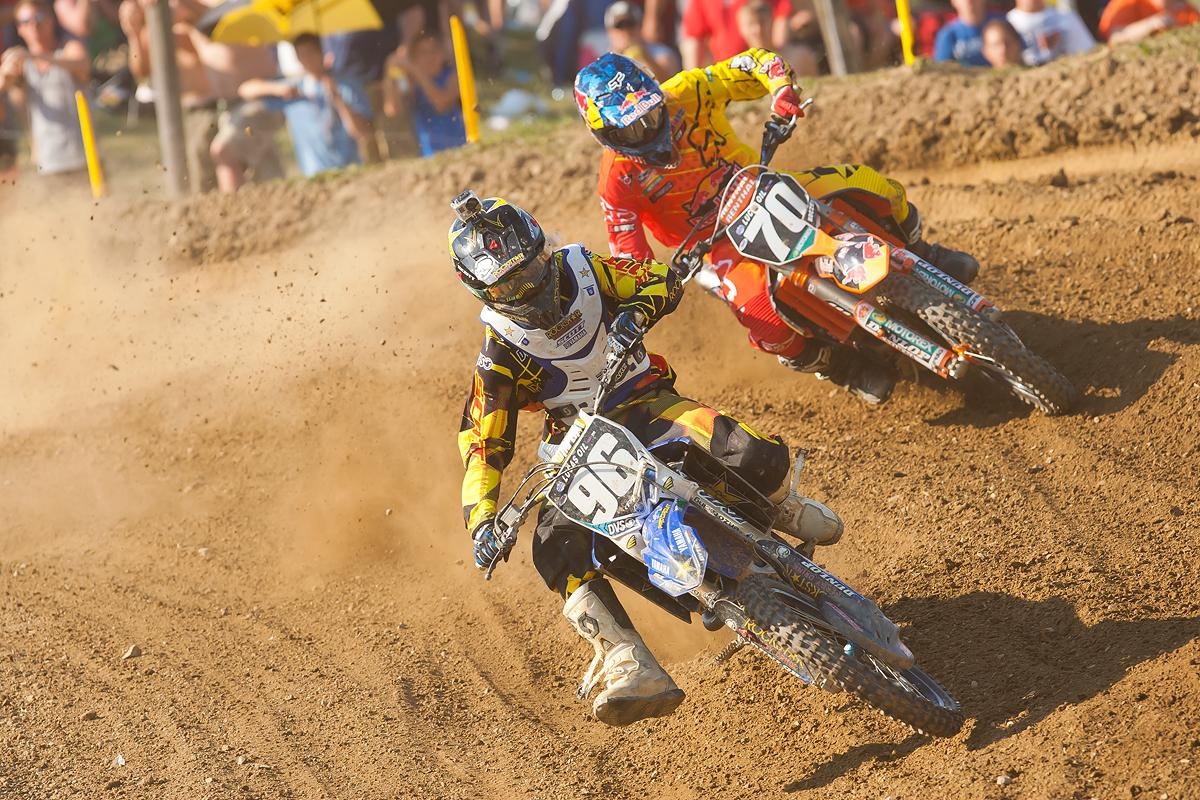 Kyle Peters and Ken Roczen