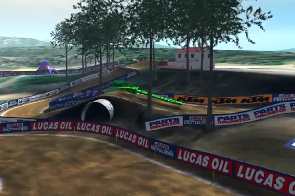 Animated Track Map:  Budds Creek, Heli Cam