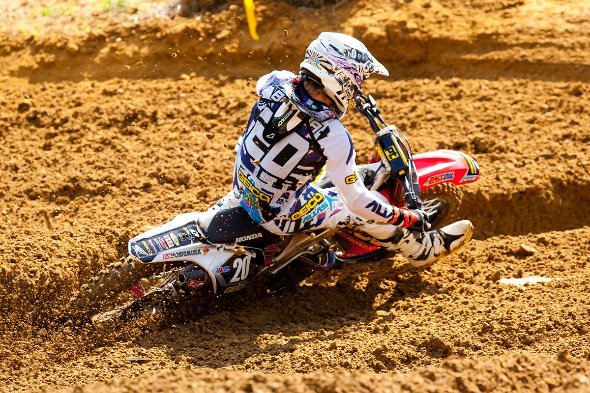 Justin Barcia won the Oakley Bomb award.