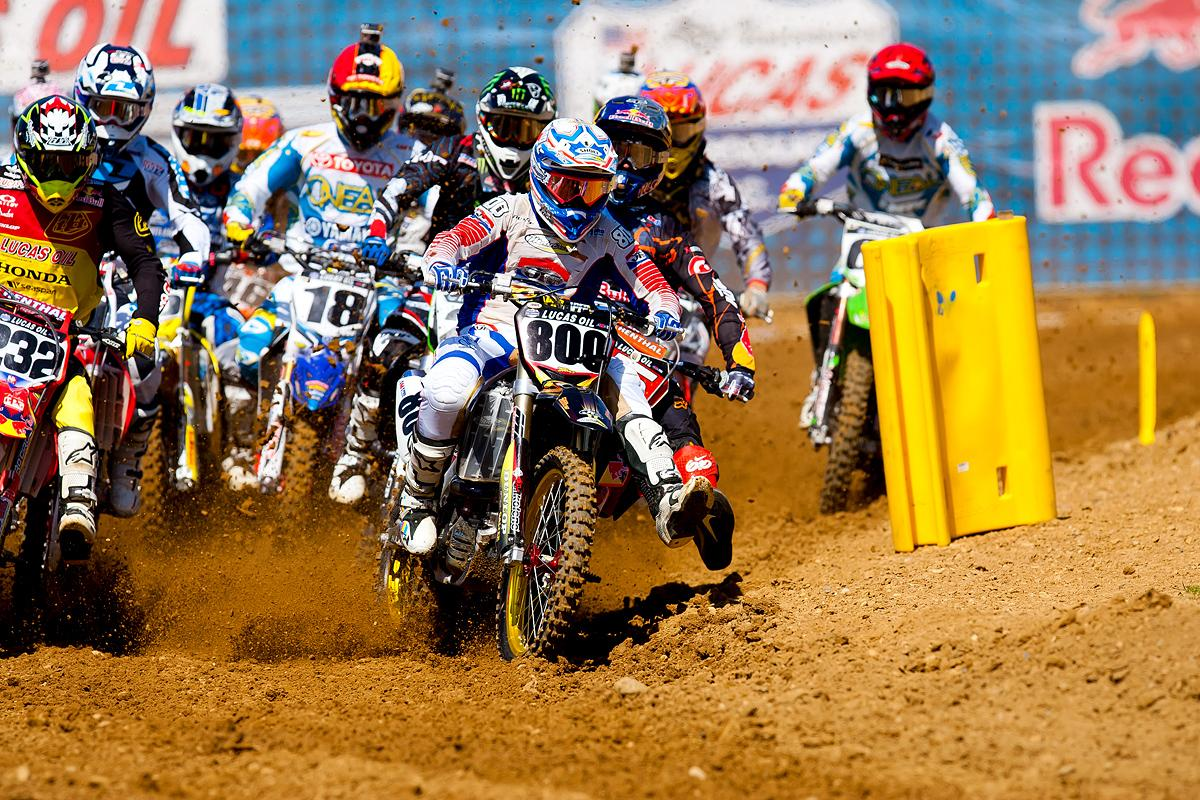 Mike Alessi Holeshot