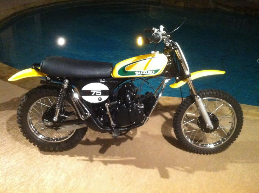 your collection: 1974 tm 75 - racer x online