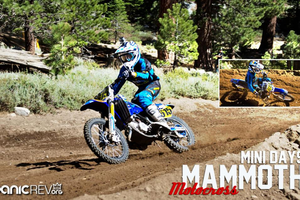 Mammoth Motocross Mini Days