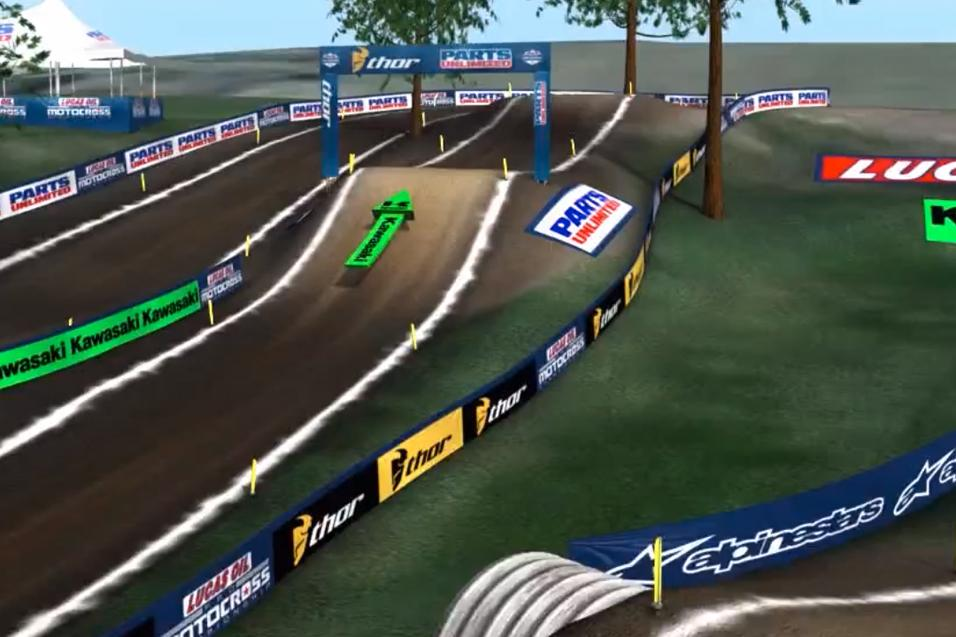 Animated Track Map: RedBud