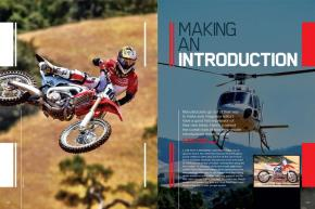 When it comes to introducing this year's model, bike manufacturers pull out all the stops—and then some— to get the word out. Page 146.