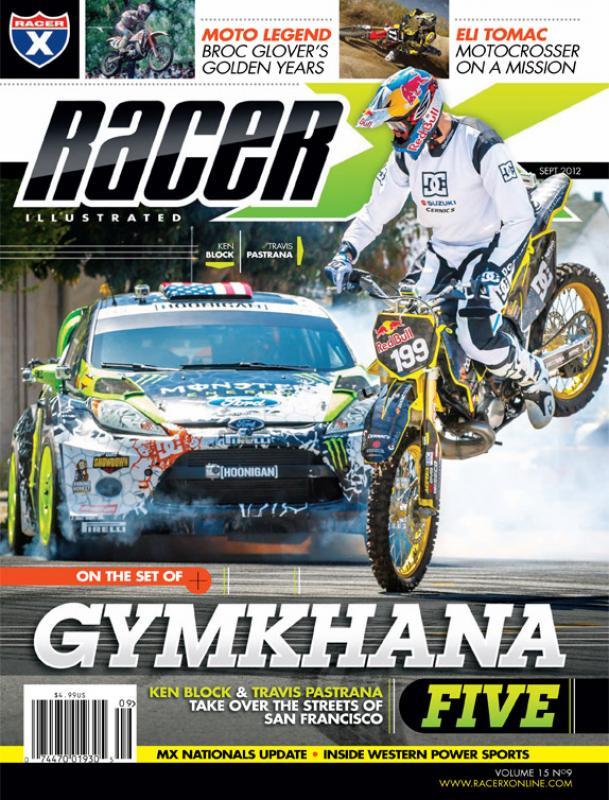 The September 2012 Issue - Racer X Illustrated Motocross Magazine
