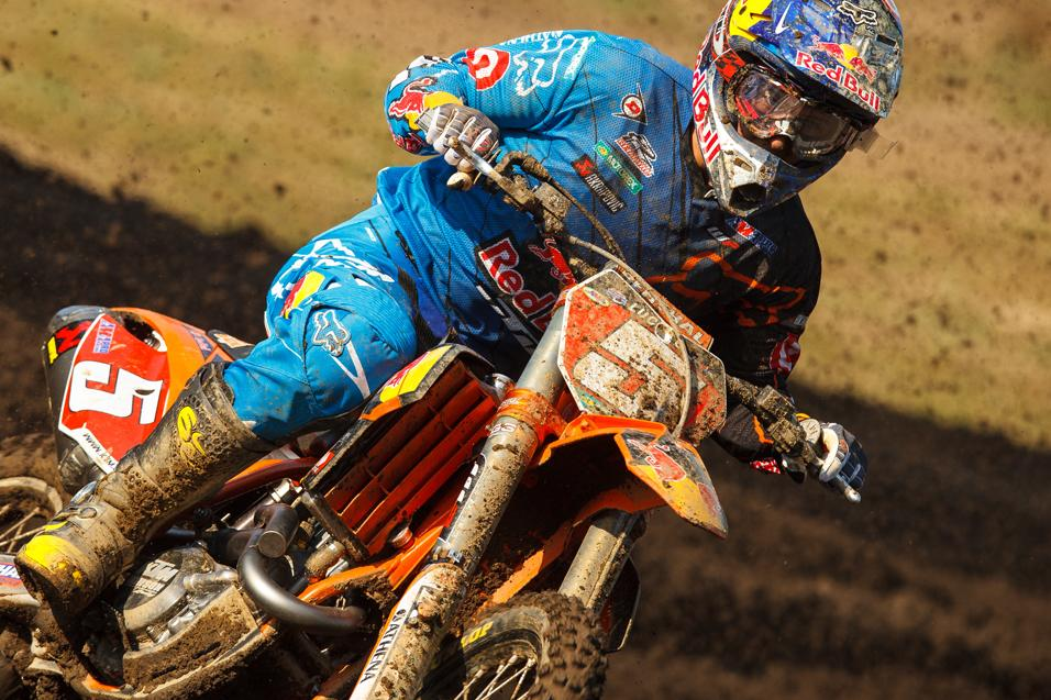 Going for the<br /> W: Ryan Dungey