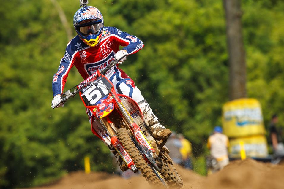 Between the Motos:  Travis Baker