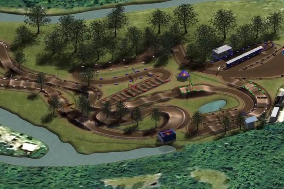Animated Track Map:  Loretta Lynn's