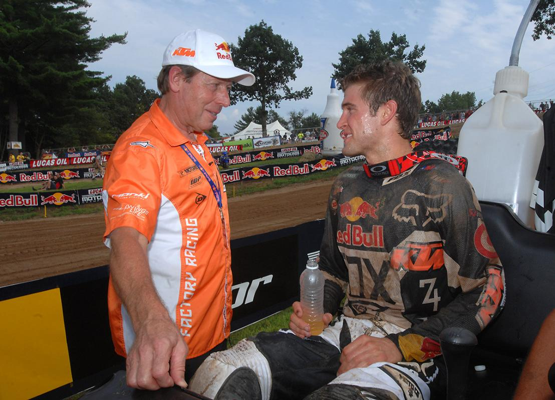 Ryan Dungey and Roger DeCoster