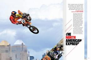 The Great White North has drawn American talent for years, but now, Americans Matt Goerke and Bobby Kiniry are on the verge of a historic 1-2 finish in the Land of Matthes. Page 118.