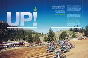 The Monster Energy Mammoth Mountain Motocross, held in the gorgeous mountains of Eastern California, has become a tradition to be proud of. Page 136.