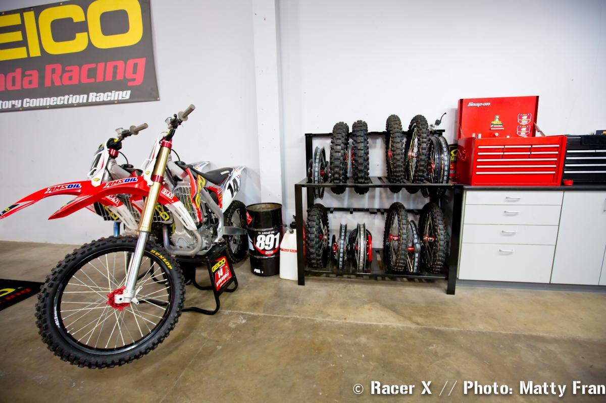 Factory Connection Race Shop Tour