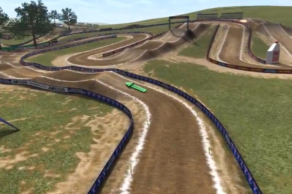 Animated Track Map: Steel City