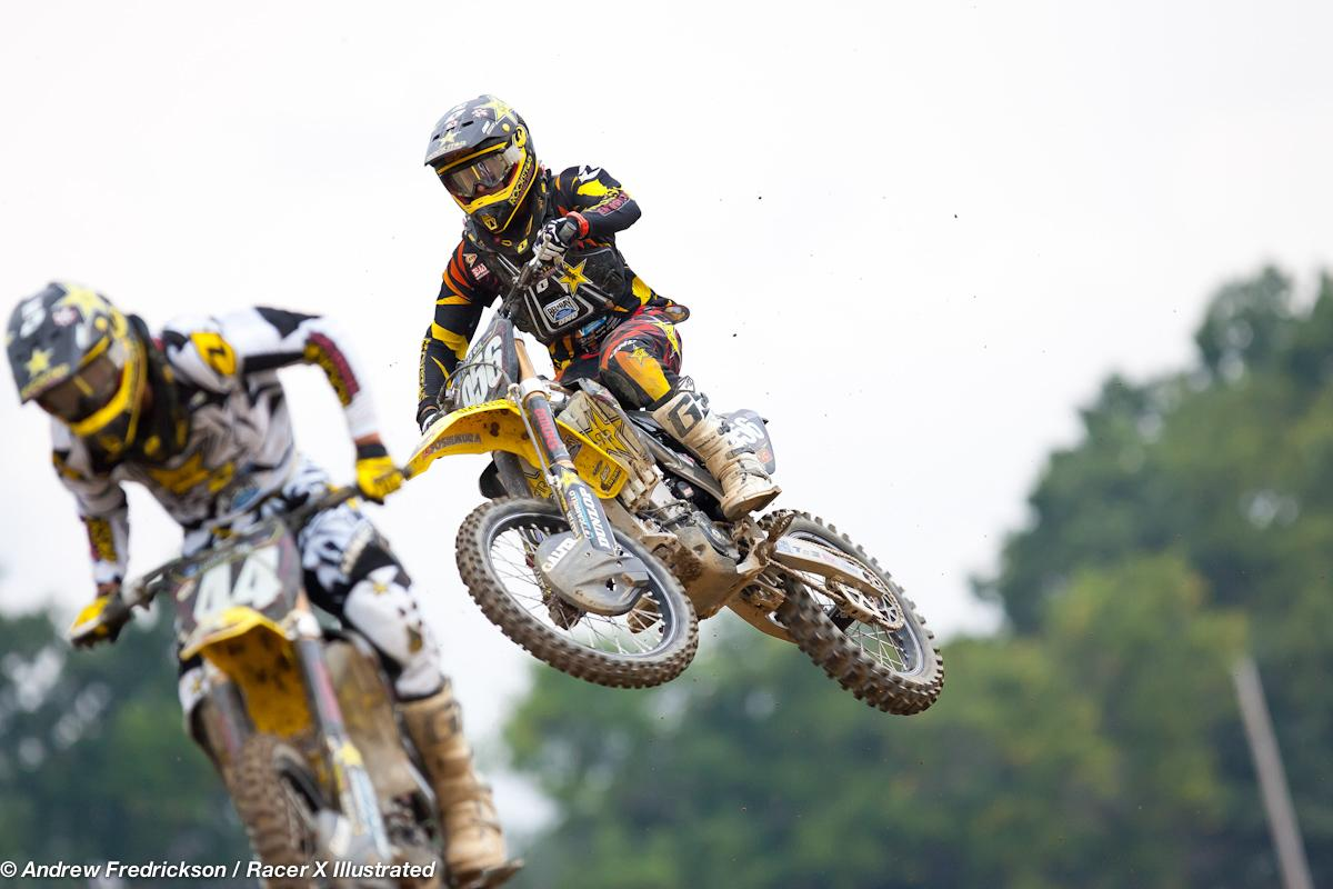 Jason Anderson and Blake Wharton