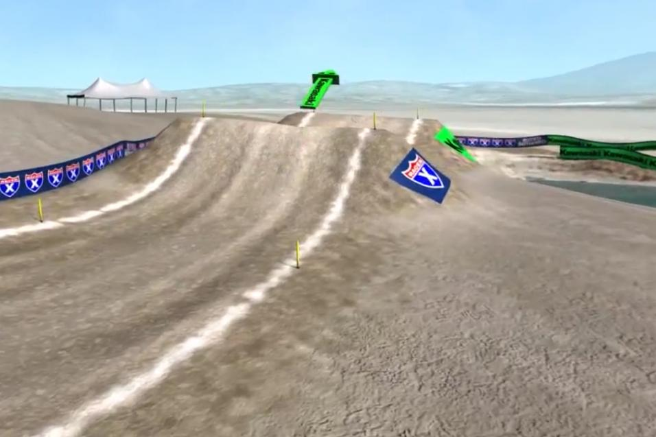 Animated Track Map: Lake Elsinore
