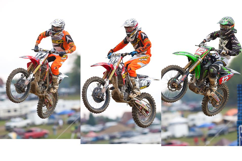 <strong>Bench Racing Ammo:</strong> Stats<br /> on Baggett, Tomac and Barcia