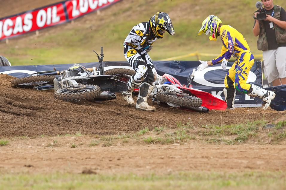 Racer X Notebook: Steel City