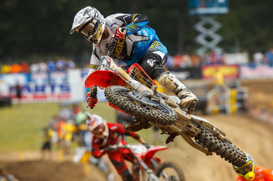 Racer X Films: In  the Spotlight, Justin Bogle