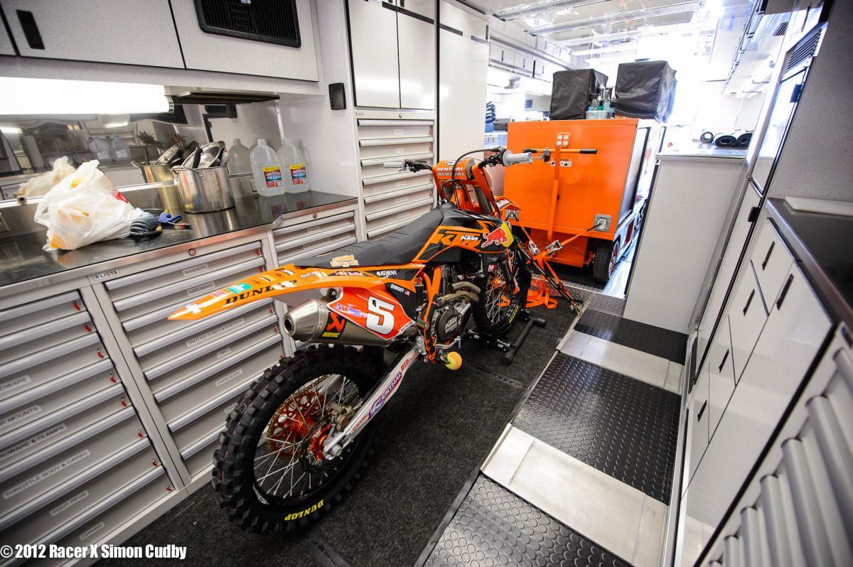 Ryan Dungey's KTM 450